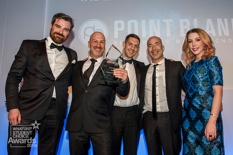 whatuni awards - point blank
